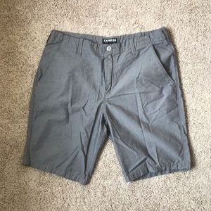 *NEW* Express gray 100% cotton lightweight shorts